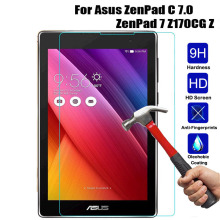For Asus ZenPad C 7.0 Z170C Z170CG Z171CG Tablet Tempered Glass Screen Protector For Asus ZenPad C 7.0 Z170C Z170CG Z171CG