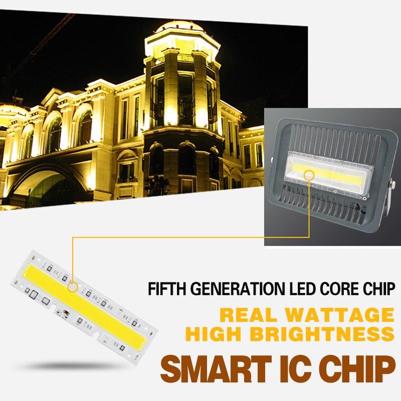 LED sel işıq 30W 50W 100W 110V 220V IP65 Suya davamlı Smart IC - Xarici işıqlandırma - Fotoqrafiya 3