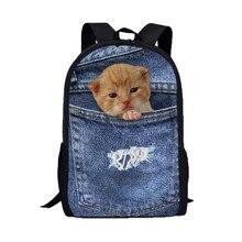 XINIU путешествия рюкзак женщины мужчины рюкзак для ноутбука животных кошки собаки школьная сумка колледжа Mochila Militar Бесплатная доставка #480