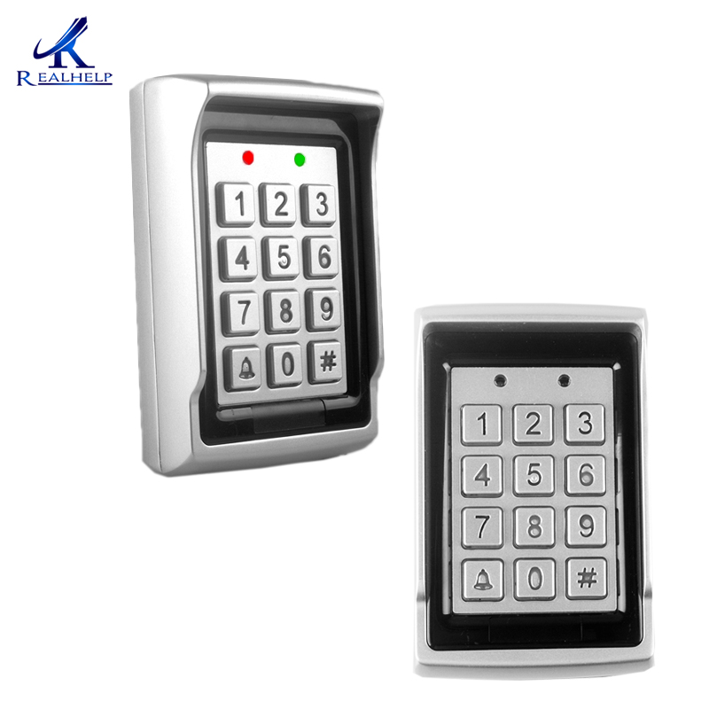 Keypad Access with Wiegand Input ID Card 1000Users With Waterproof Shell Keypad and Proximity Entry System Standalone Keypad