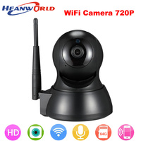 HD 720P IP Mini Network Home Security Surveillance Baby Monitor Night Vision Smart Electronic WiFi Wireless