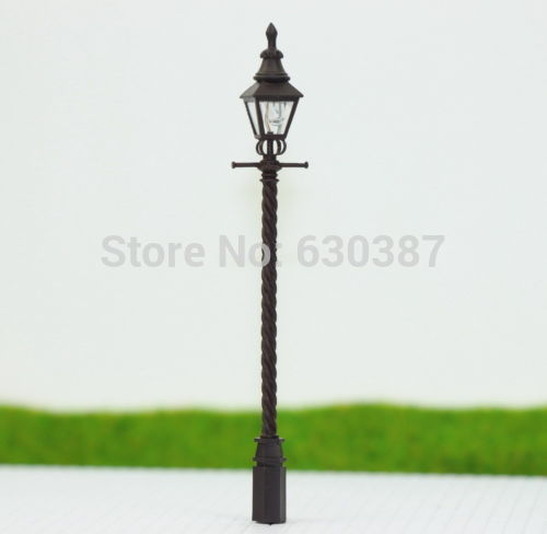Aliexpress eve model scale remote control lqs03 5pcs model railway train antique lamp post street light ho oo tt scale new mozeypictures Images