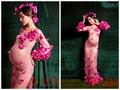 Беременная женщина платье платья для съемки фотосессии проф платье для беременных, для фотосессии Женская подвижное платье фотосессия