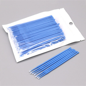 Image 3 - 100pcs/pack Microblading Micro Brushes Swab Lint Free Tattoo Permanent Supplies Tattoo Accessories