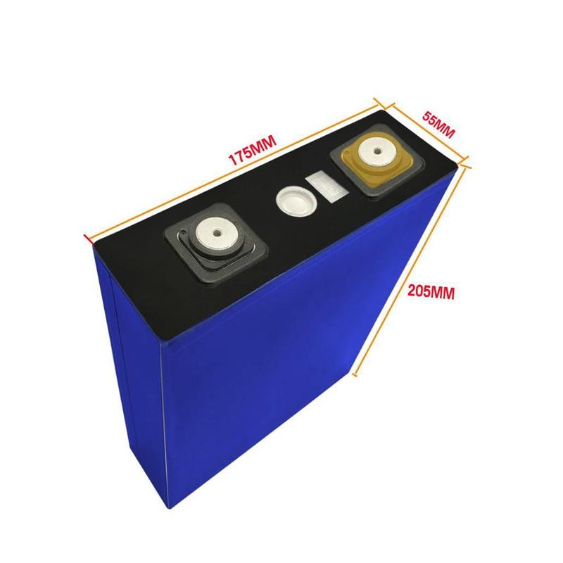 4pcs/lot DIY 3.2V 200Ah lithium iron phosphate battery 200Ah for electric car solar system UPS