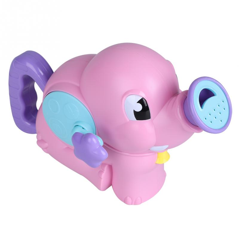 2018 Summer Elephant Water Spraying Tool Baby Shower Toys 2 Colors Children Fancy Beach Toy Bathing Swimming Pool Sprinkler Toys