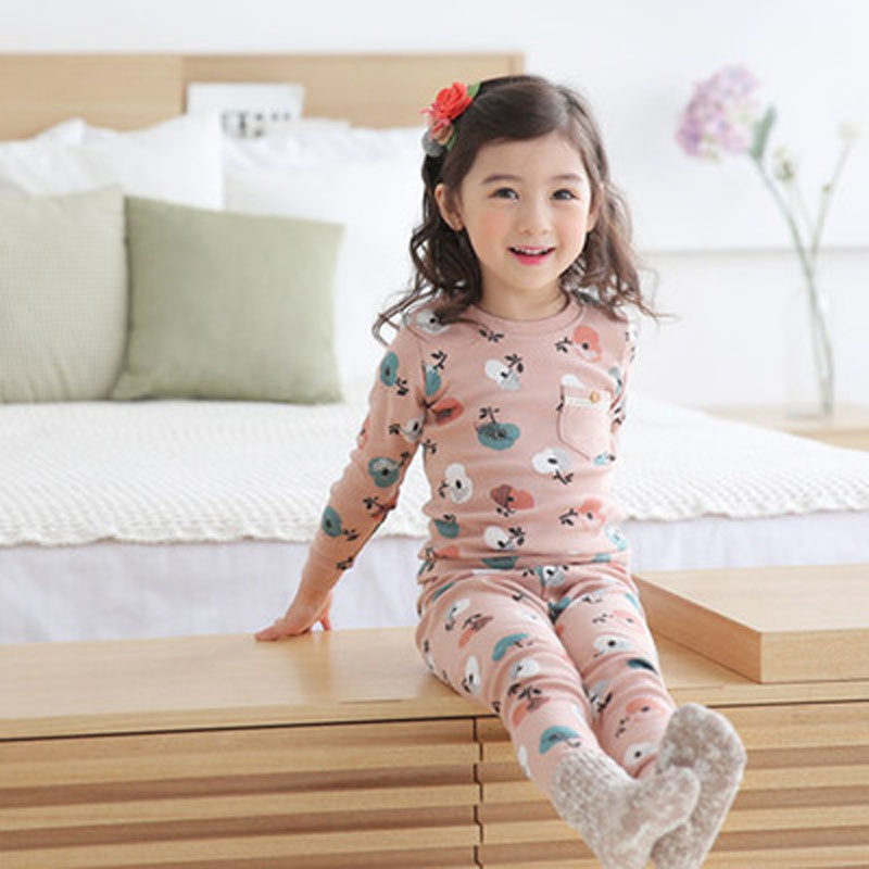 MAGGIE'S WALKER Baby Girls Boys Clothing Sets Children 2Pcs Sleepwear Furniture Sets Toddler Kid Casual Home Pajamas Suit