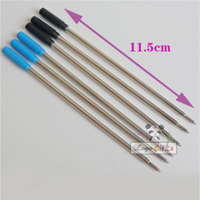 Long refill stainless steel base material Unified standard Is suitable for the METAL pen roller ball 10pcs a lot