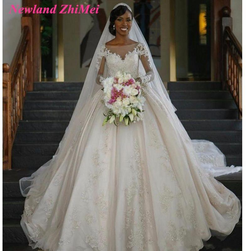 Aliexpress Com Buy Elegant Flare Sleeve Wedding Dress: Aliexpress.com : Buy New Arrival Princess Wedding Dresses