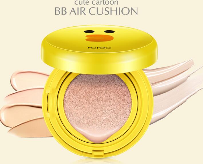 Cute Air Cushion BB CC Cream Concealer Moisturizing Face Foundation Makeup Whitening Face Beauty Makeup Korean Cosmetics