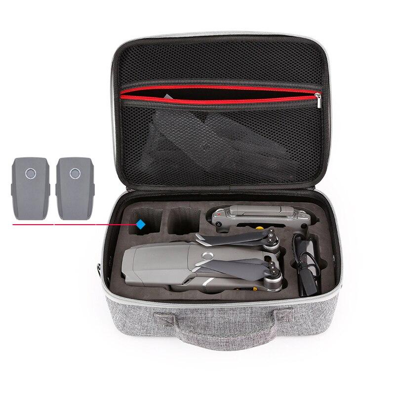 DJI Mavic 2 Caso Portatile del Sacchetto di Spalla Della Borsa per DJI Mavic 2 pro zoom corpo batterie del telecomando trasporta la cassa drone Parte
