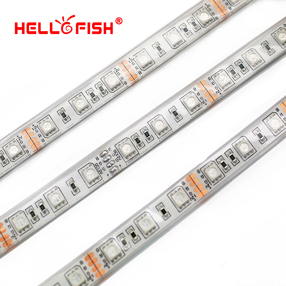 IP68 Waterproof 5M 300 LED 5050 LED Strip 12V LED Flexible Strip Light, Filled Silicone Waterproof, Work In The Water.