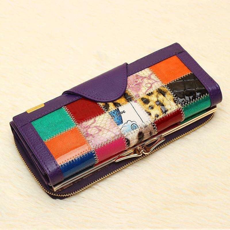 genuíno mulheres carteira de couro Modelo Número : D0927