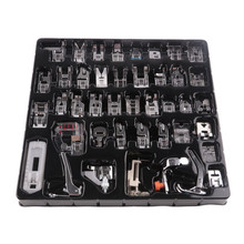 32Pcs/42Pcs Multifunctional Stitch Darning Sewing Machine Parts Domestic Presser Foot Feet Kit Set With Box