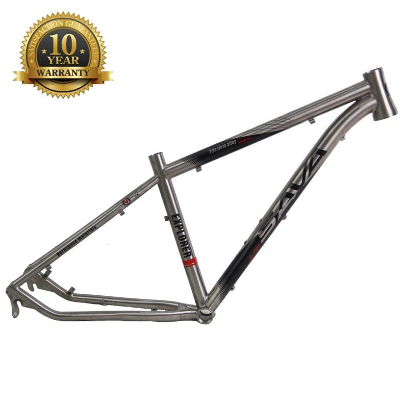 SAVADECK 27.5 inch MTB Titanium Alloy Frame 22 Speed Mountain Bike