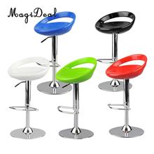 MagiDeal 1/6 Scale Round Swivel Chair Pub Bar Stool Furniture for 12 Inch Action Figure Dollhouse Decor Funny Toy 5Colors 6x14cm