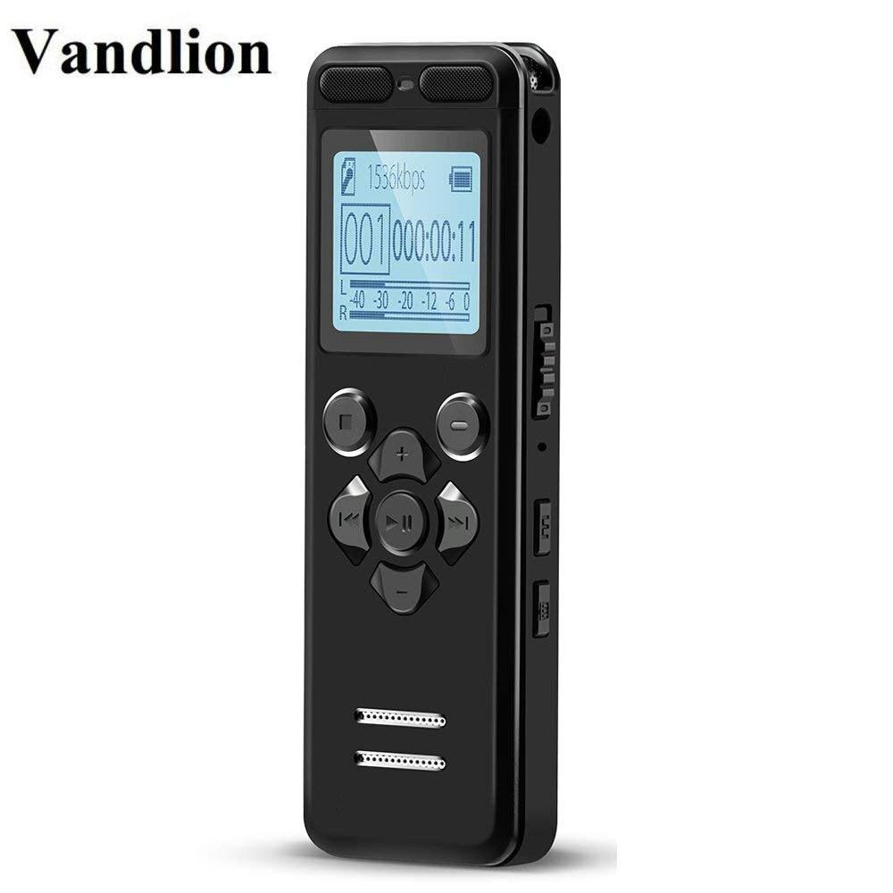Vandlion V36 Profissional Mini Gravador Digital De Voz Longo tempo de Gravação De Voz Ativado Ditafone USB Drive gravador de voz