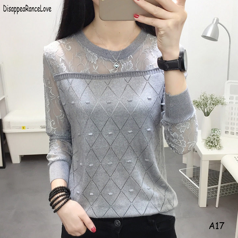 DRL 2019 Spring Winter Sweater Women  Jumper Women Sweaters And Pullovers Female Pull Femme Tops