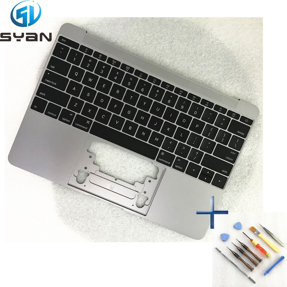 US A1534 Topcase with keyboard backlight for font b Macbook b font 12 C housing cover