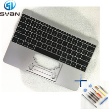 "US A1534 Topcase with keyboard backlight for Macbook 12"" C housing cover 2015"