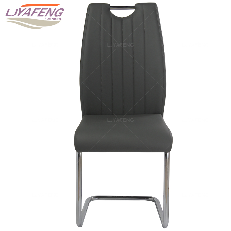 9058, the artificial leather, kitchen chair and iron chair are black . According to the bar's kitchen Family furniture the silver chair