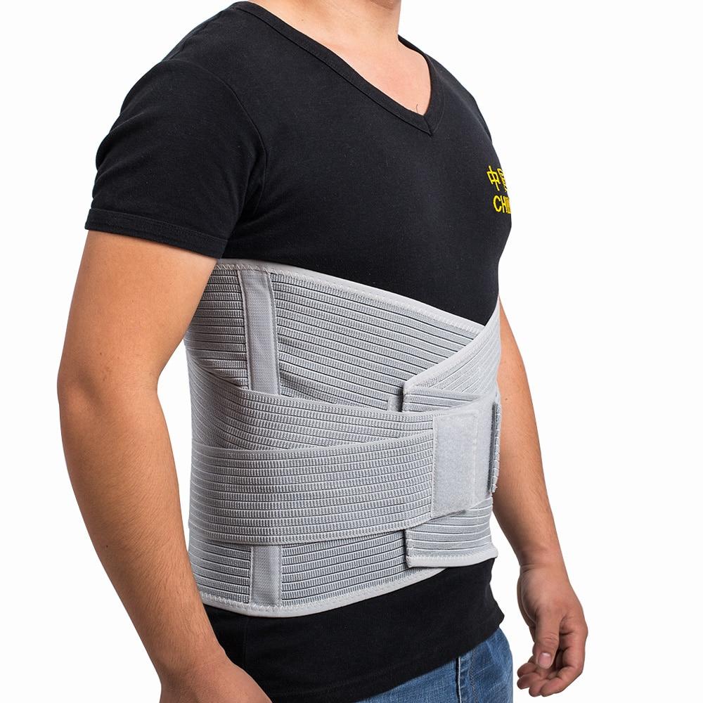 8e1d99ba4d4 Medical High Back Brace Waist Belt Spine Support Men Women Belts Breathable  Lumbar Corset Orthopedic Back