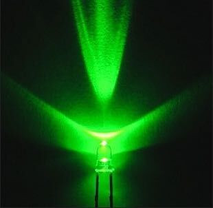 200pcs 3mm Green LED Light Emitting Diode / F3 LED Green Colour Chartreuse