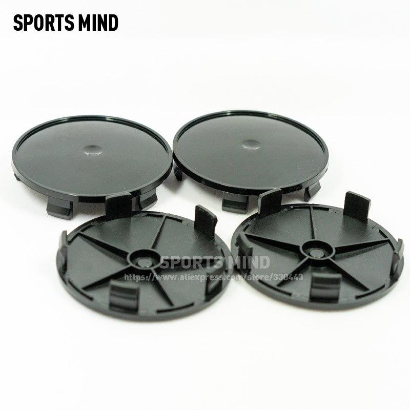 4 шт./лот 68 мм ABS универсальные колпачки для ступицы колеса SUV колпачки для центральной ступицы колеса автомобильные аксессуары