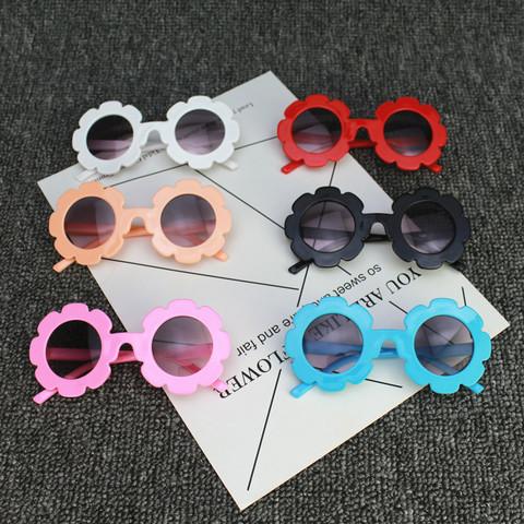 Sun Flower Sun Glasses Kids Sunglasses Baby Children Sunglasses UV400 Sunglasses Girls Boys Oculos De Sol Eyewear Accessories Karachi