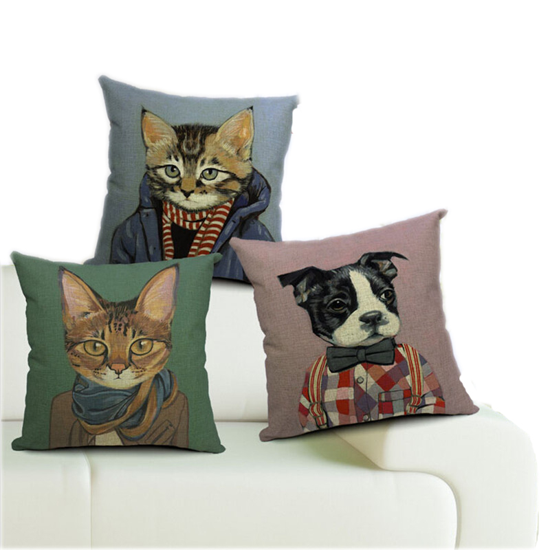Beautiful Decorative Bed Pillows : 2015 New Beautiful Pillow Covers Lovely Cats Throw Pillows Case For 18 Pillow Covers Vintage ...