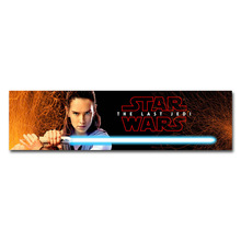 Star Wars Episode VIII The Last Jedi Horisontal Poster 13×49 16×60 inches