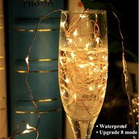 10M 100 LED Solar String Fairy Lights Premium Quality Waterproof Christmas Solar Power 2Modes Solar Lights