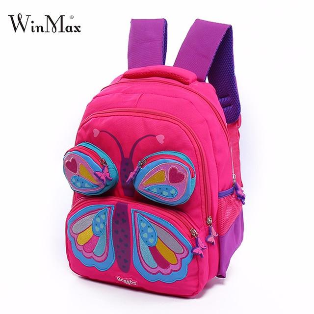 2018 New School Bags For S Backpack Erfly Pattern Children Backpacks Toddler Bag Kindergarten Mochila Escolar