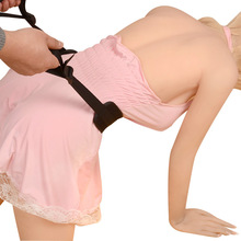 Adult Games Sex Auxiliary Waist Belt Passion Plush Toy Rear entry Doggy Style Open Leg Sex