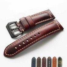 2019 Hot Sale Watch Strap 20mm 22mm 24mm 26mm Vintage Cow Leather Watch