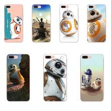 TPU macio Caso de Impressão Bb-8 Starwars Droid Robot Bb8 S Para Apple iPhone X XS Max XR 4 4S 5 5C 5S SE 6 6 S 7 8 Plus(China)