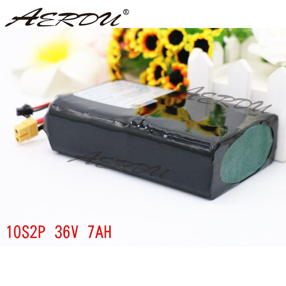 Batterie AERDU 10S2P 36 V 7Ah pour 35E XT60 SM 2 P
