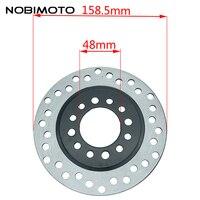 COOSTA Motorcycle Parts 160mm Rear Brake Disk Brake Disc Rotor For ATV Dirt Pit Bike Off