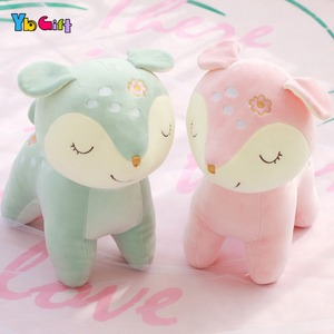 Image 5 - Cute Deer Plush Toy Soft Plush baby Doll Stuffed Animals Appease Toys Kids  Birthday Gifts Christmas Gifts Decoration Toy