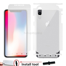 New Soft 4D Full Body Protection Smart Assist Hydrogel Film for iPhone X 5.8