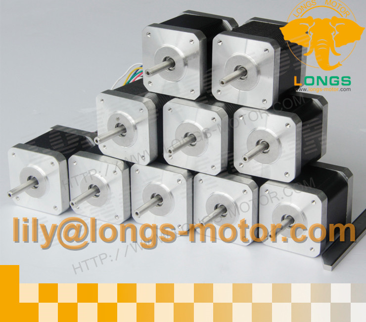 Germany Stock EU Free shipping 10PCS Nema17 Stepper Motor 17HS4401N 4000g cm 1 7A 40mm 2Phase