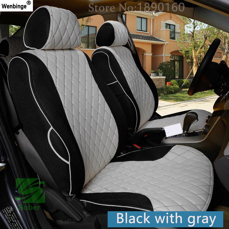 Housse de siège de voiture respirante spéciale pour Volvo S60L V40 V60 S60 XC60 XC90 XC60 C70 s80 s40 auto accessoires voiture autocollants