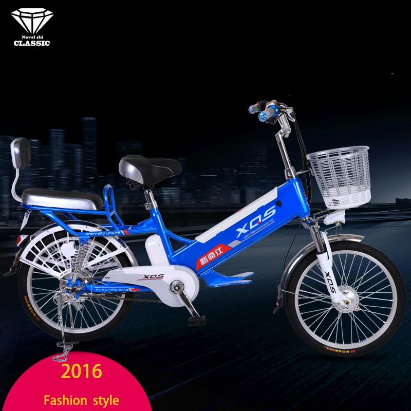 Bicicleta eléctrica 20/24 pulgadas 60V batería de litio extraíble - Ciclismo - foto 2