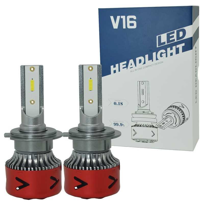 Новые продукты нового поколения автомобильные лампы Led V16 H7 автомобильные фары Светодиодные H7 огни