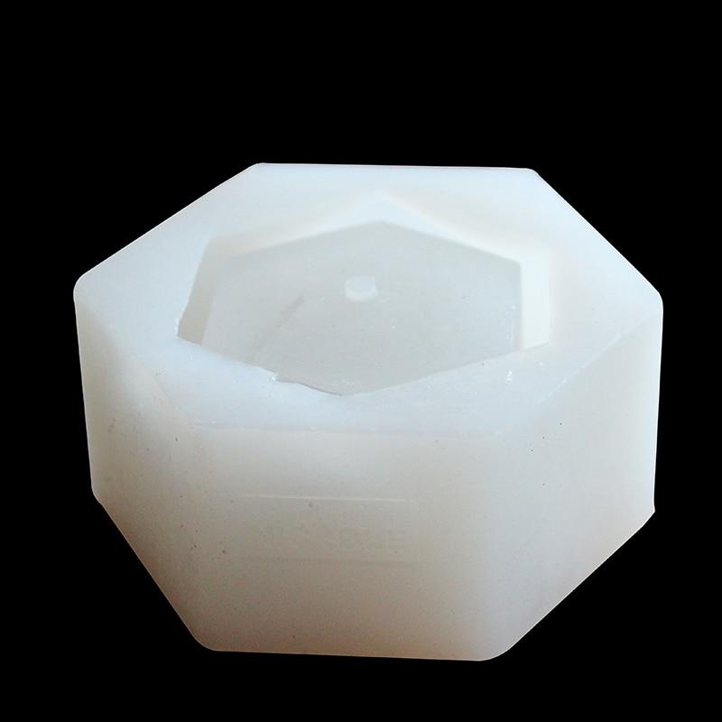 Nicole Silikon Beton Form für Blumentopf Geometrische Polyeder Zement Pflanzer Form Garten Dekoration Werkzeuge-in Lehm-Formen aus Heim und Garten bei  Gruppe 2