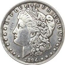 1894-S сша Морган долларовые монеты КОПИЯ