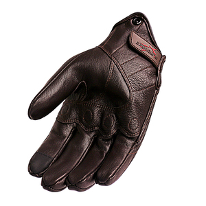 Image 3 - Motorcycle Gloves Leather Touch Screen Men Genuine Leather Cycling Glove Motorbike Racing guantes de moto luvas de motocicleta
