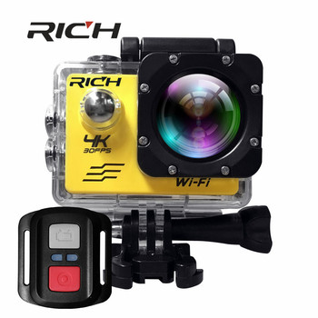 V903R Action Camera Wifi 2.0 LTPS LED Sports extreme Recorder Marine Diving 1080P HD DV 30M waterproof sports Camera add memory