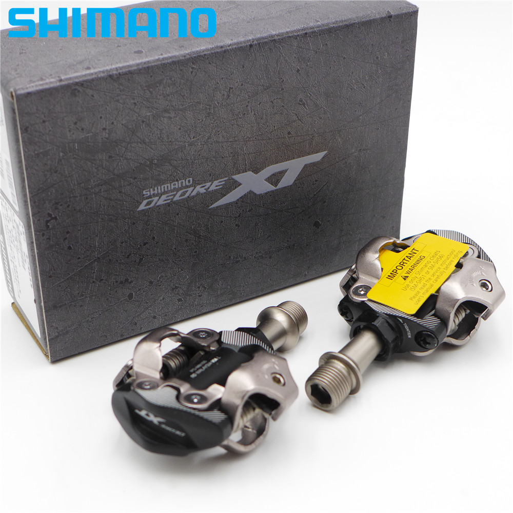 Box FOR Shimano DEORE XT PD-M8100 MTB XC SPD Bicycle Pedal W// SH51 Pedal