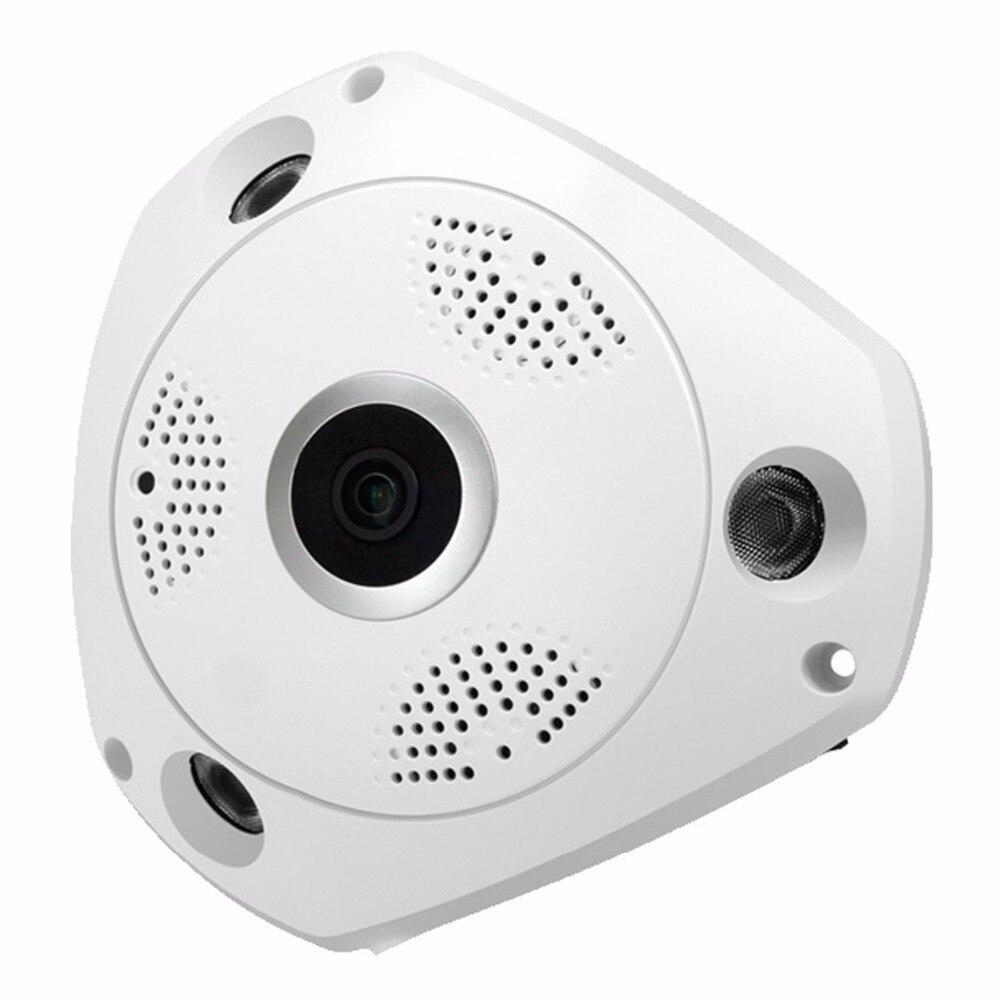 360 градусов панорамный рыбий глаз ip-камера WiFi HD 960 P домашнее наблюдение